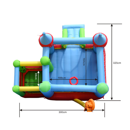 jumping castle for girls
